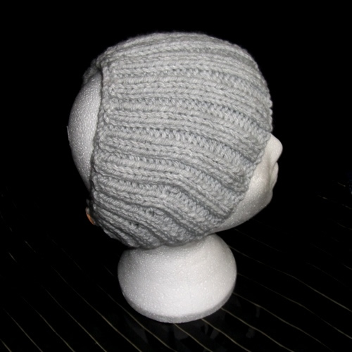 Grey - A headband handmade by Longhaired Jewels