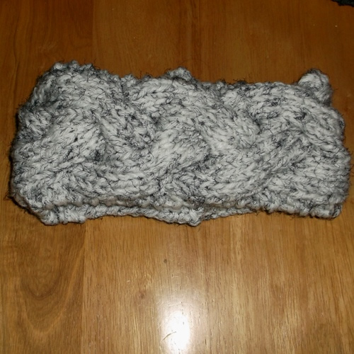 Storm - A Chunky braided headband handmade by Longhaired Jewels