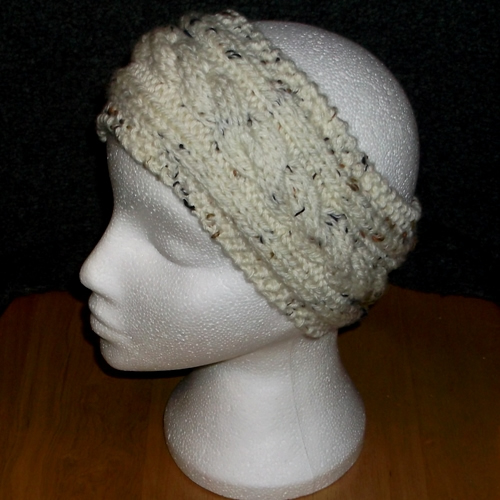 Moorland - Cabled headband handmade by Longhaired Jewels