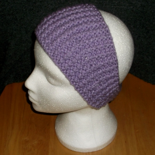 Lilac reverse headband handmade and sold by Longhaired Jewels
