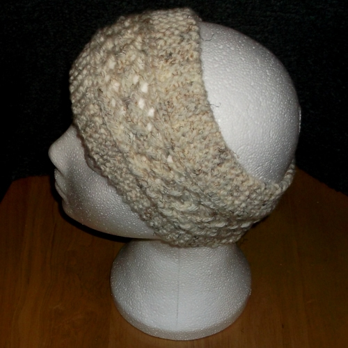 Moorland Lace headband handmade and sold by Longhaired Jewels