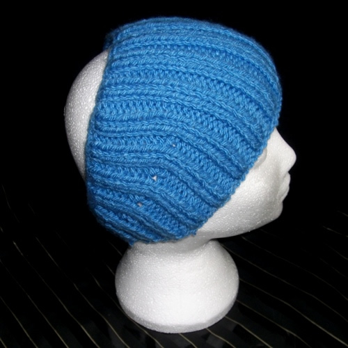 Neon Blue - A headband handmade by Longhaired Jewels