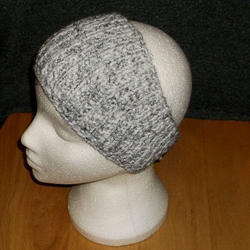 Storm hand knitted headwear, handmade by Longhaired Jewels
