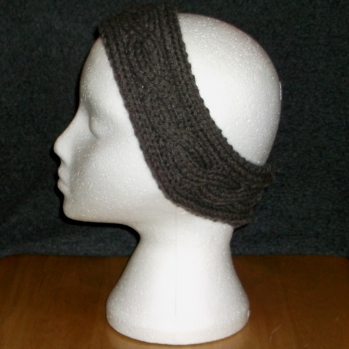 Ribbed headband handmade and sold by Longhaired Jewels