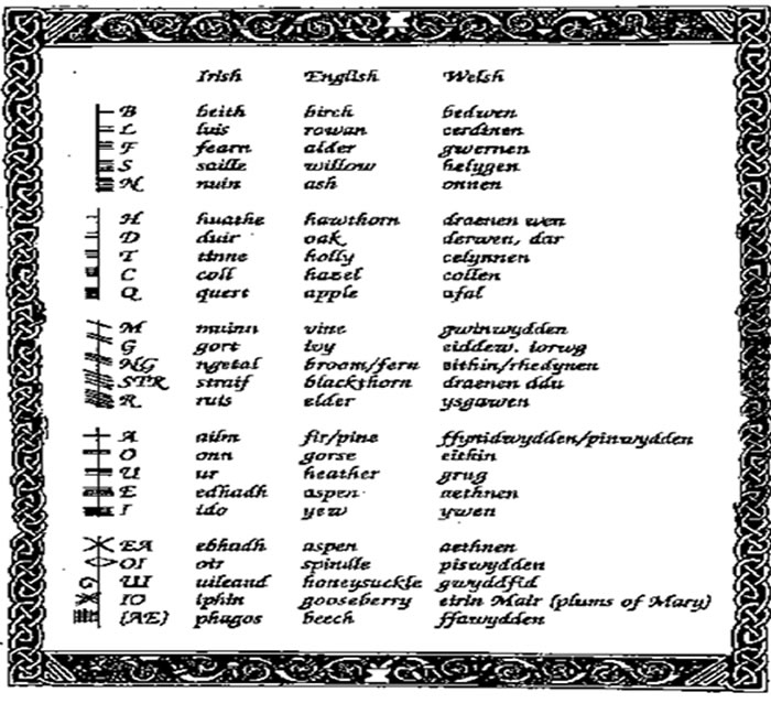 Irish Celtic Symbols And Meanings Celtic & druidic symbols